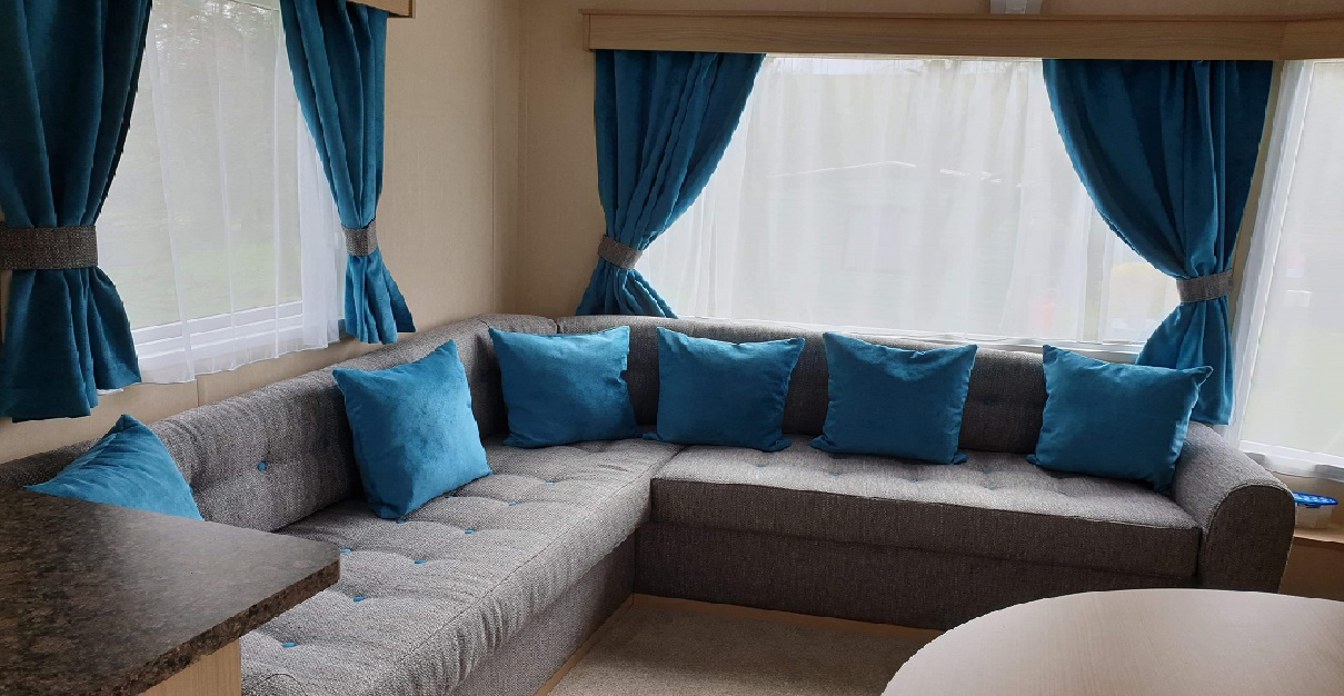 Bespoke Caravan Cushions  Tailored to your style & Choice