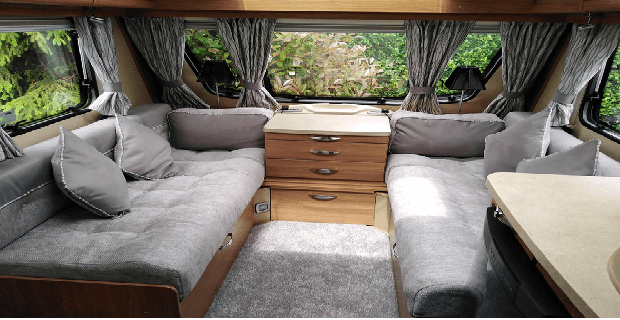 Caravan InteriorsCushions, Curtains & Pelmets